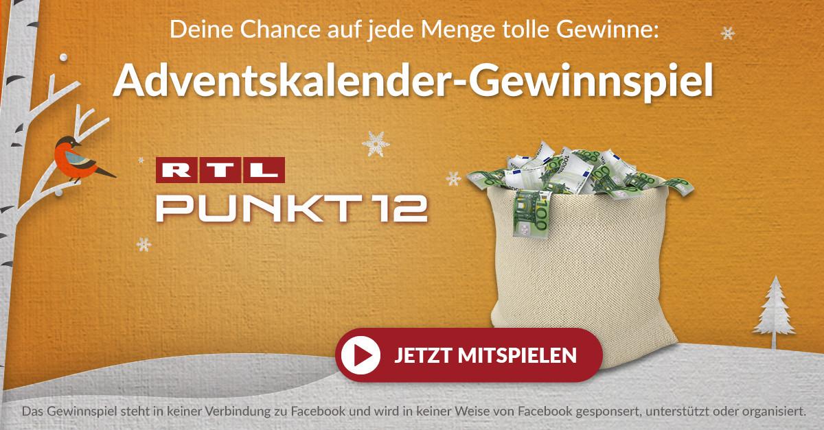 RTL PUNKT 12 GEWINNSPIEL TEILNAHME