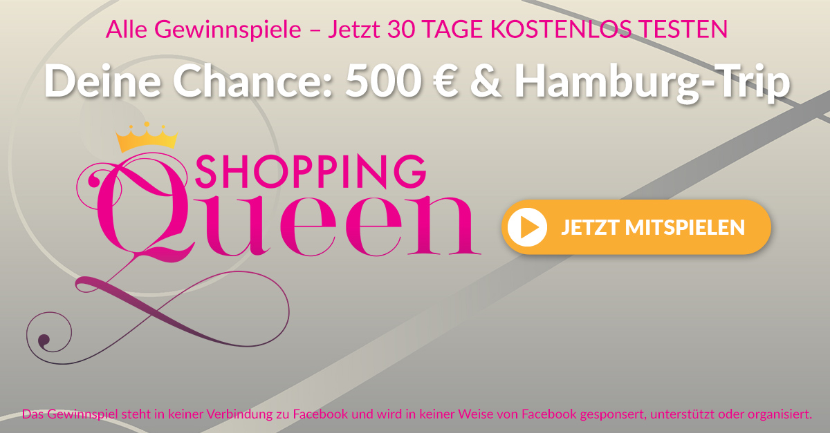 Shopping Queen Gewinnspiel