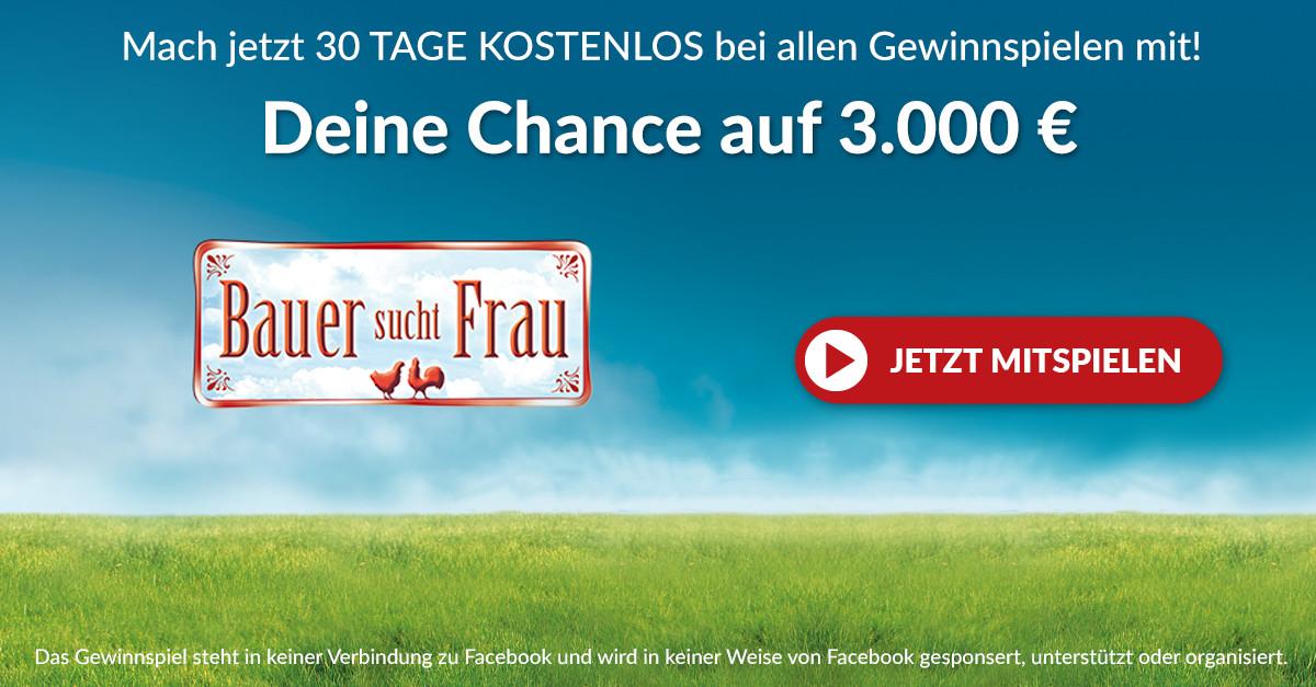 RTL Bauer sucht Frau Gewinnspiel: Jetzt teilnehmen
